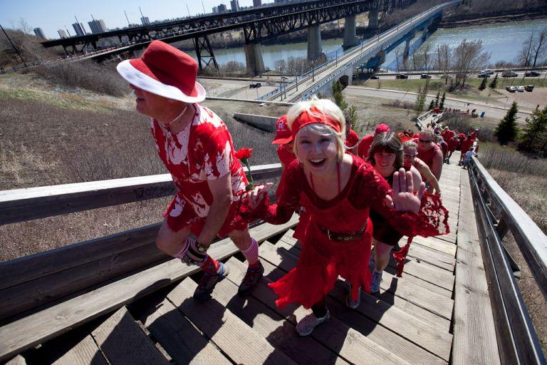 Edmonton Red Dress Run