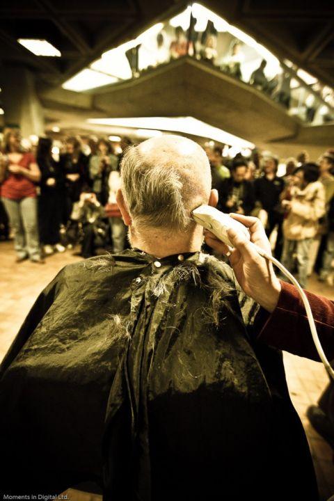 Alberta Government Head Shave 2009