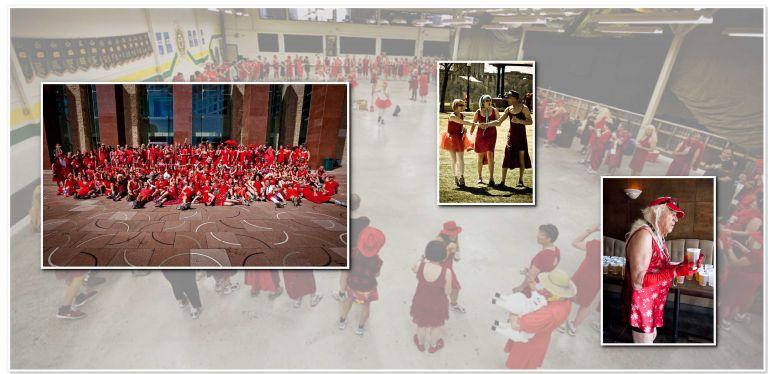 Edmonton Hasher's Red Dress Run