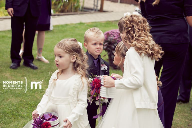 Edmonton Wedding Photography - Ring Bearer
