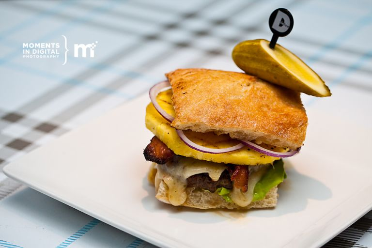 Edmonton Commercial Photography at Delux Burger