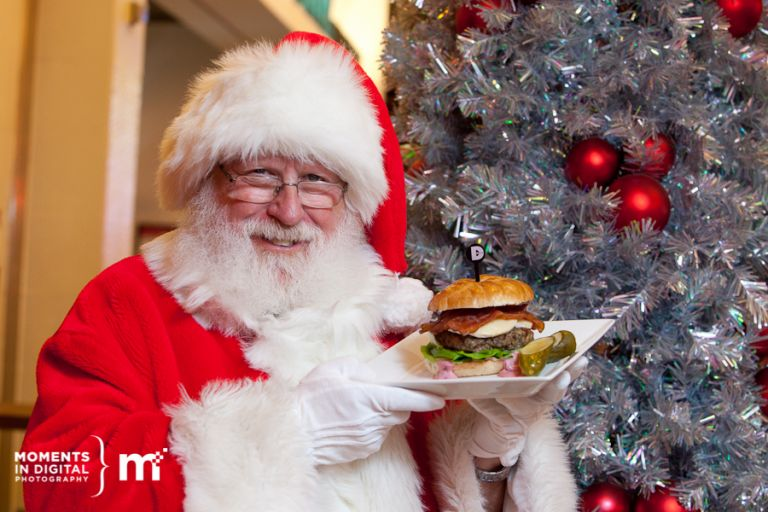 Edmonton Commercial Photographers - Santa Claus Celebrity Chef