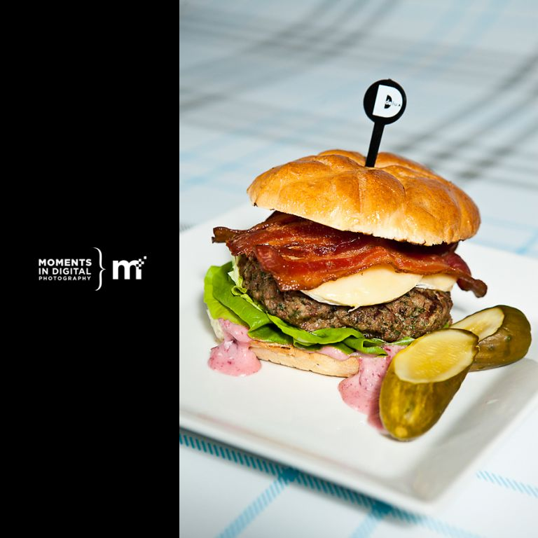 Edmonton Commercial Photography - Delux Burger Turkey Burger