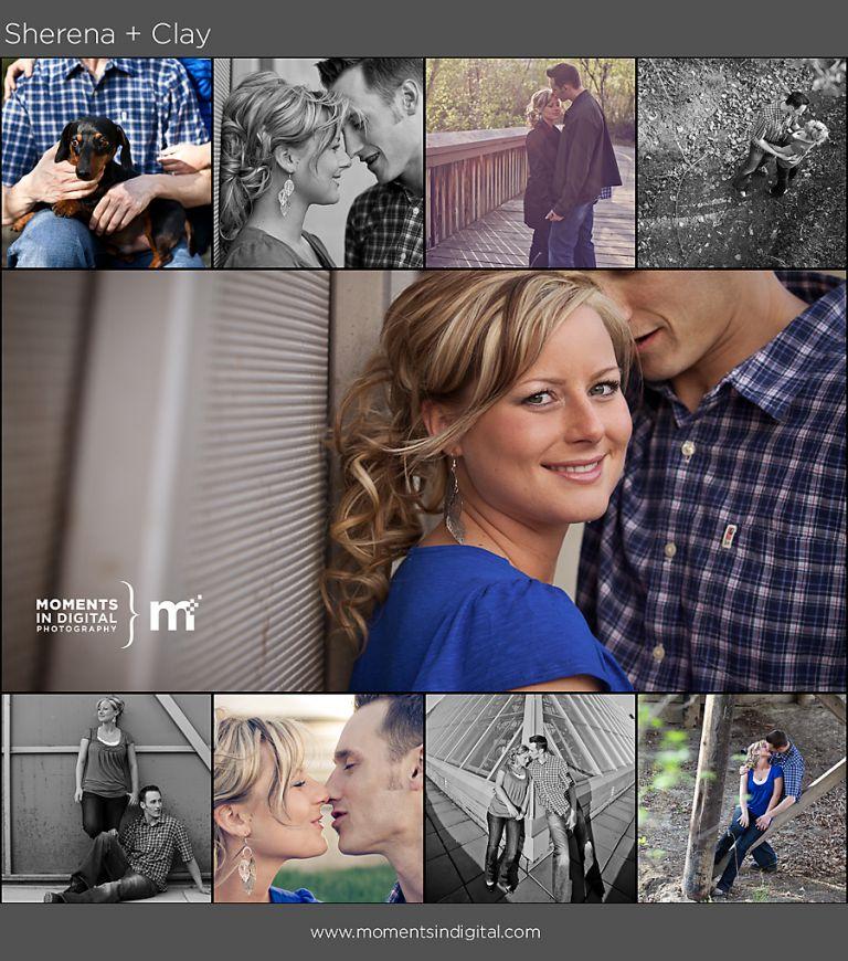 Engagement Photos in Edmonton's River Valley