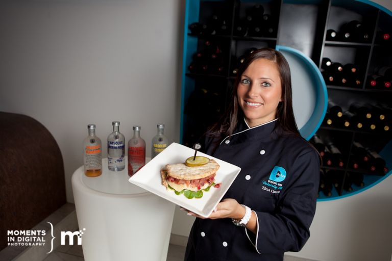 Edmonton Commercial Photography - Delux Burger Celebrity Chef Tina Carson