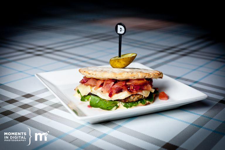 Edmonton Commercial Photography - Delux Burger Celebrity Chef Tina Carson