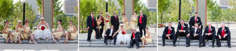 Wedding Photography in Louise McKinney Park in Edmonton