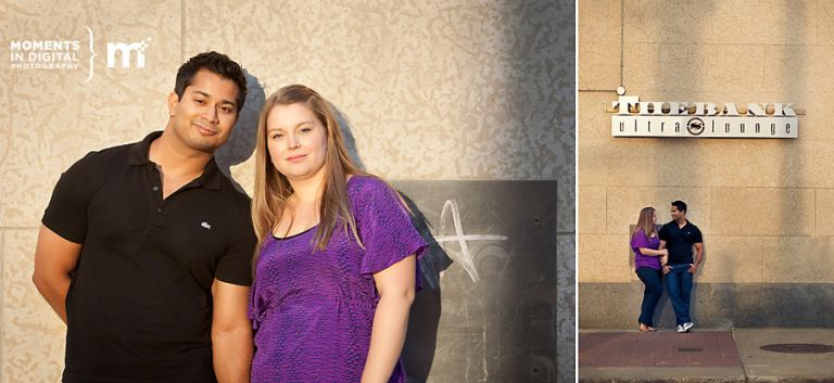 Wedding and Engagement Photography in Downtown Edmonton