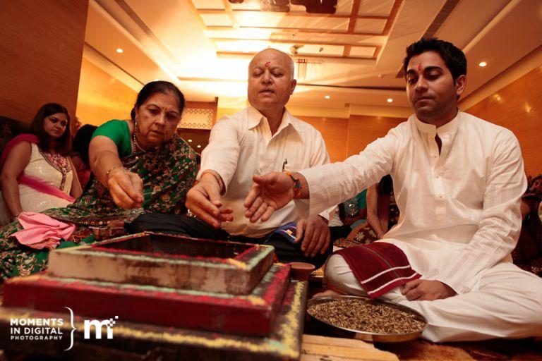 Edmonton Wedding Photographers - Haldi Ceremony