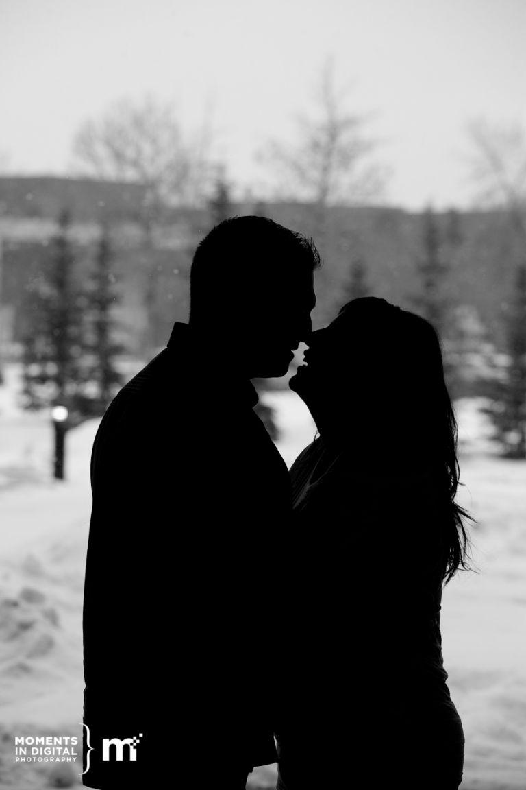 Engagement Photographs in Edmonton - Nicohl + Tim