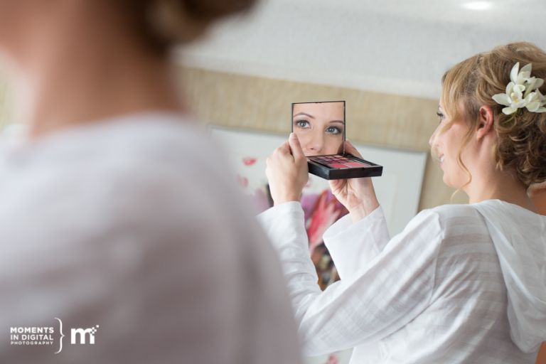 Wedding Day Makeup - Photography by Moments in Digital