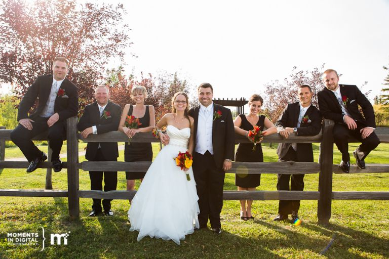 Edmonton Wedding Photography - Bridal Party in Sherwood Park