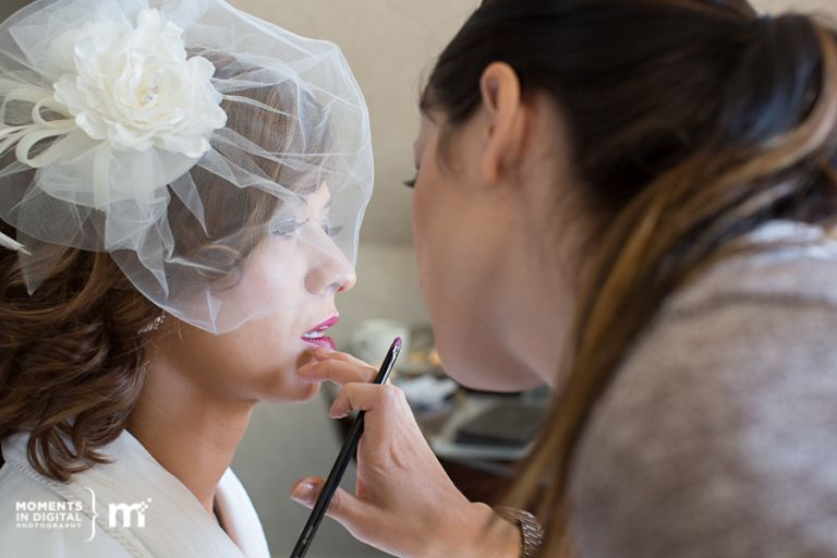 Edmonton Wedding Photography - Bride Makeup