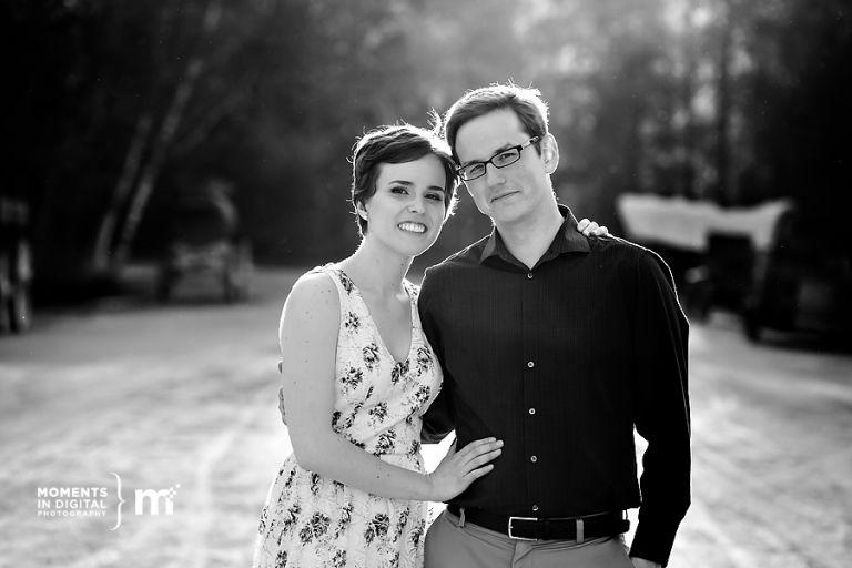 Engagement Photographs at Fort Edmonton Park