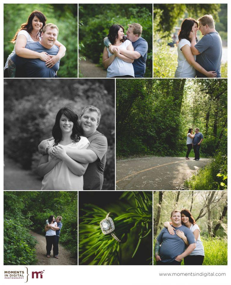 Edmonton Wedding Photographers - Engagement Session with Larysa & Dylan