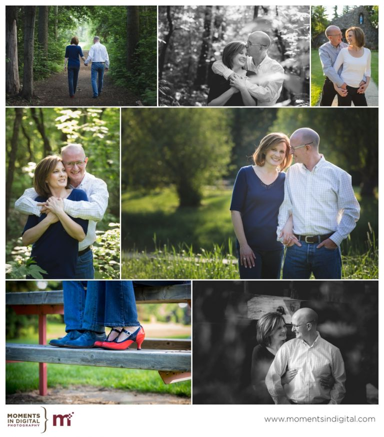 Edmonton Wedding Photoraphers - Engagement Session in St Albert