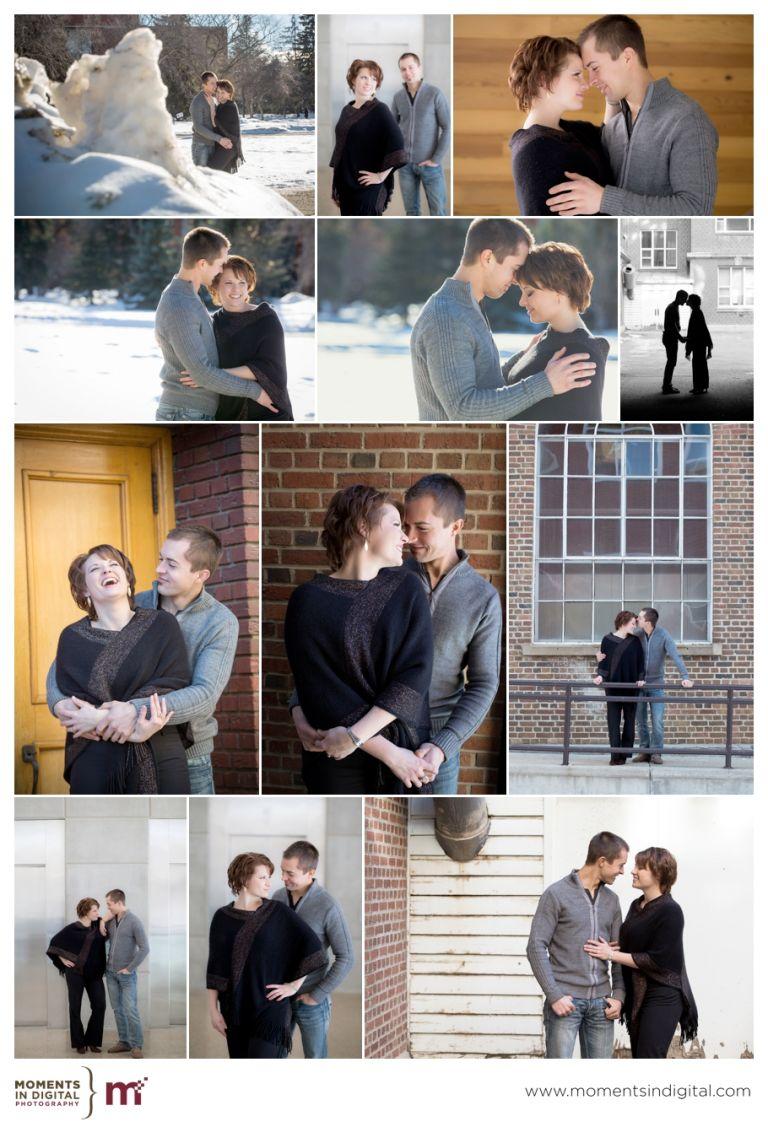 Edmonton Wedding Photographers - Andrea & Jon Engagement Session