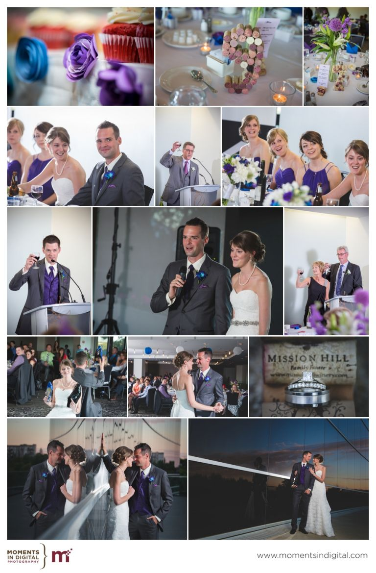 Edmonton Wedding Photographers - Reception at the Shaw Conference Centre