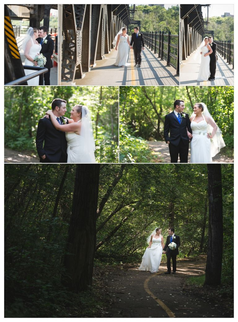 Edmonton Wedding Photographers - Photography on the High Level Bridge