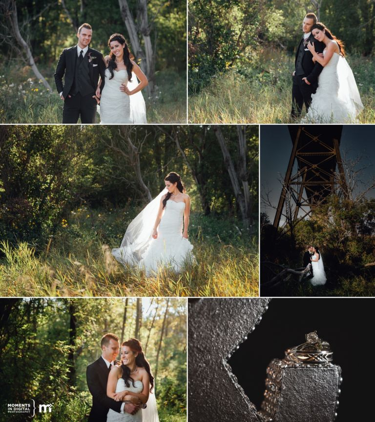 Edmonton Wedding Photography in the River Valley