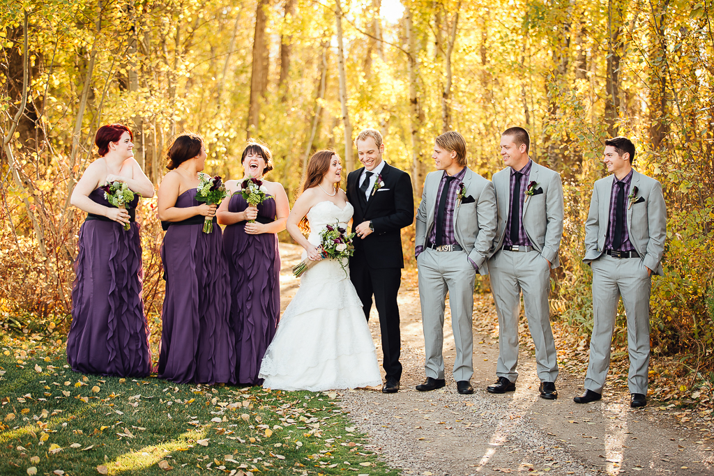 Edmonton Wedding Photographers - Fall Wedding at the Glendale Golf Course