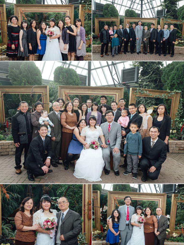 Edmonton Wedding Photographers - Ceremony at the Muttart 2