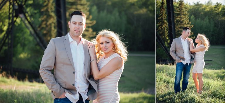 Engagement photographers in Edmonton