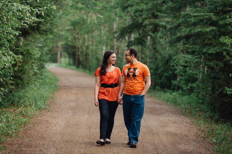 Engagement Photos in Edmonton - Marina & Michael 3