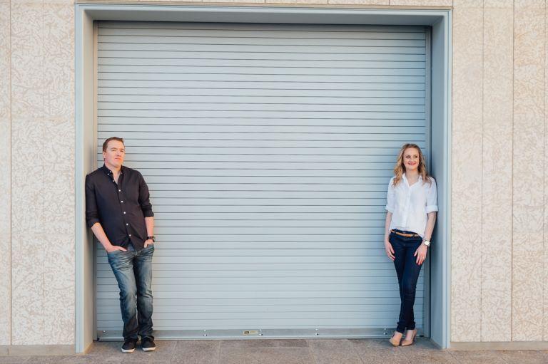 Engagement photographers in Edmonton - Kelsey & Brett