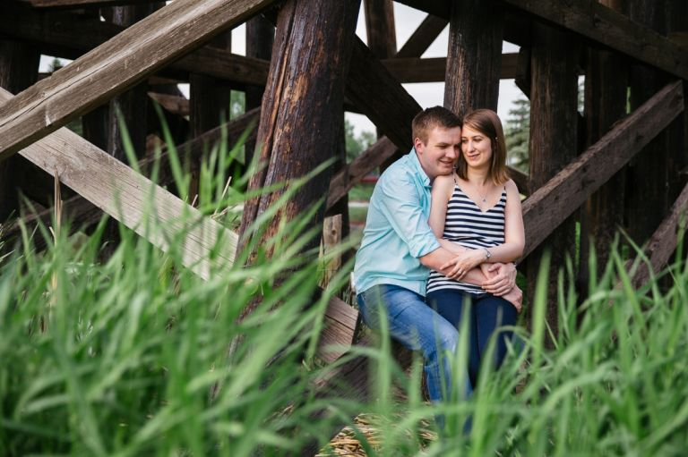 Engagement Photos in St. Albert by Moments in Digital