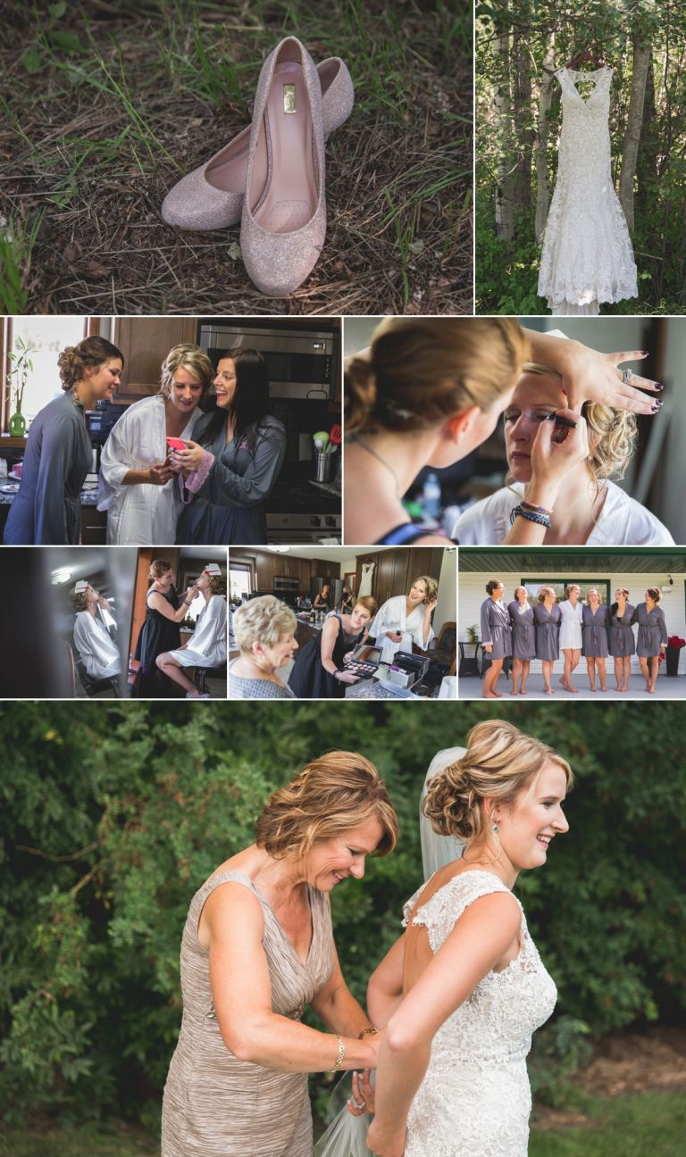 Kaitlin & Stephen - Country Wedding in Radway 1