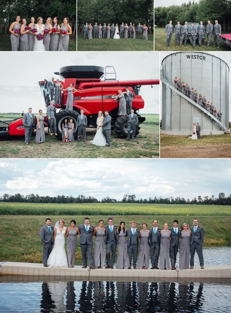 Kaitlin & Stephen - Country Wedding in Radway 3