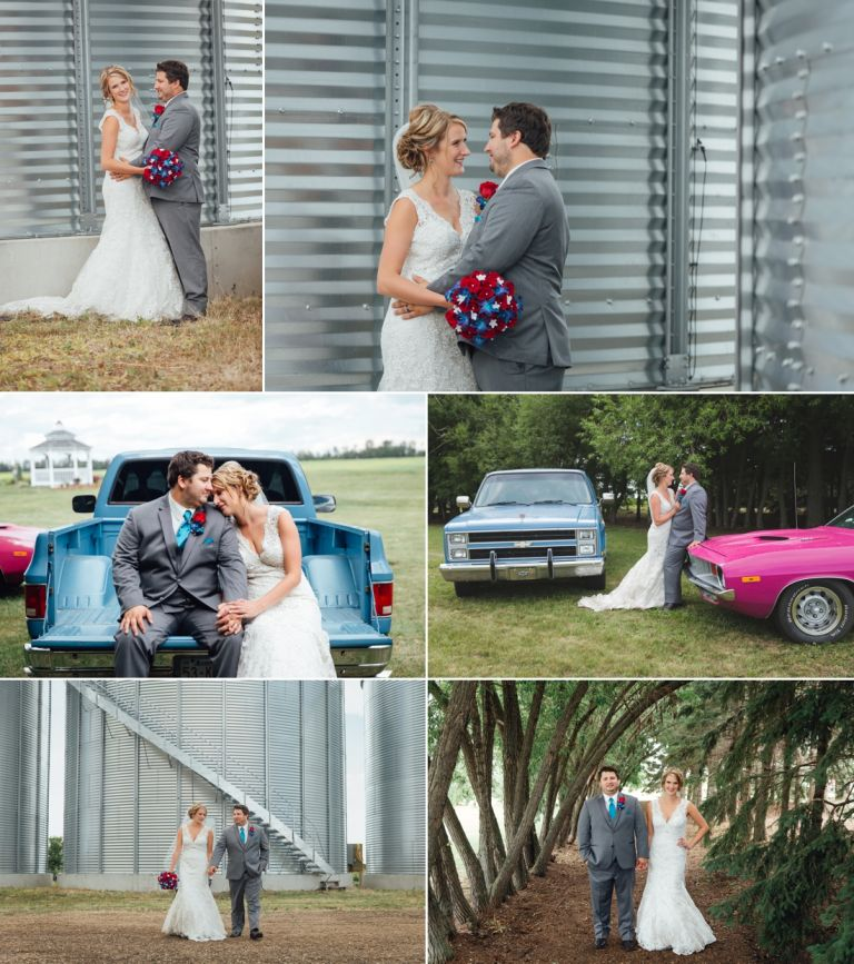 Kaitlin & Stephen - Country Wedding in Radway 4