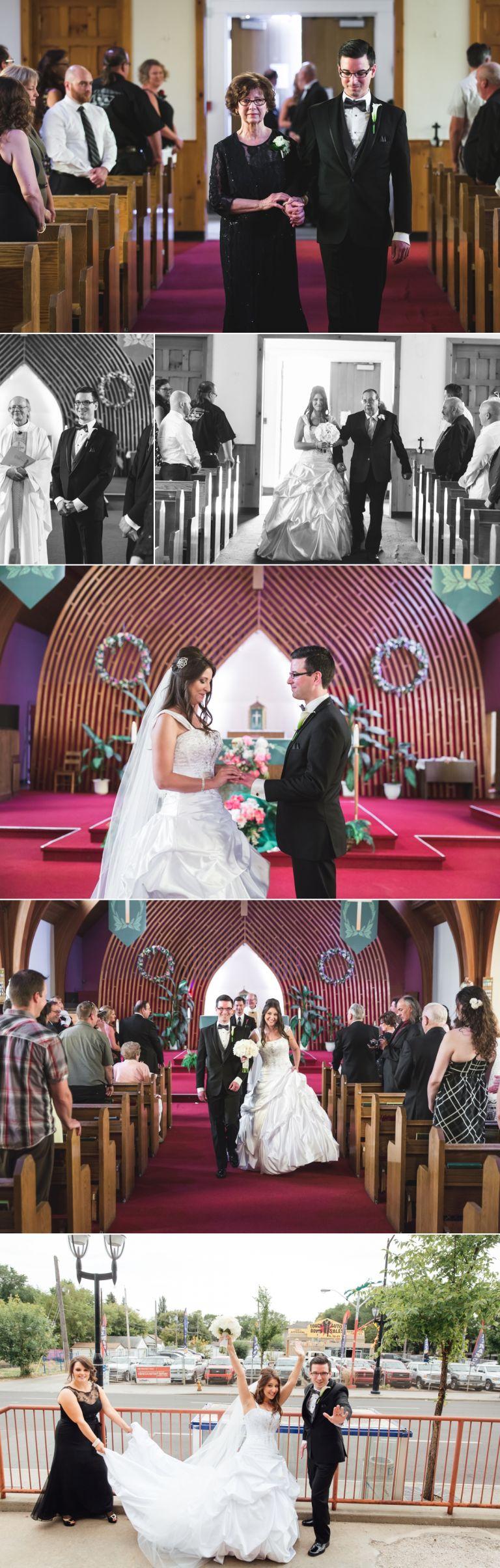 Wedding Photography at St. Alphonsus Parish in Edmonton
