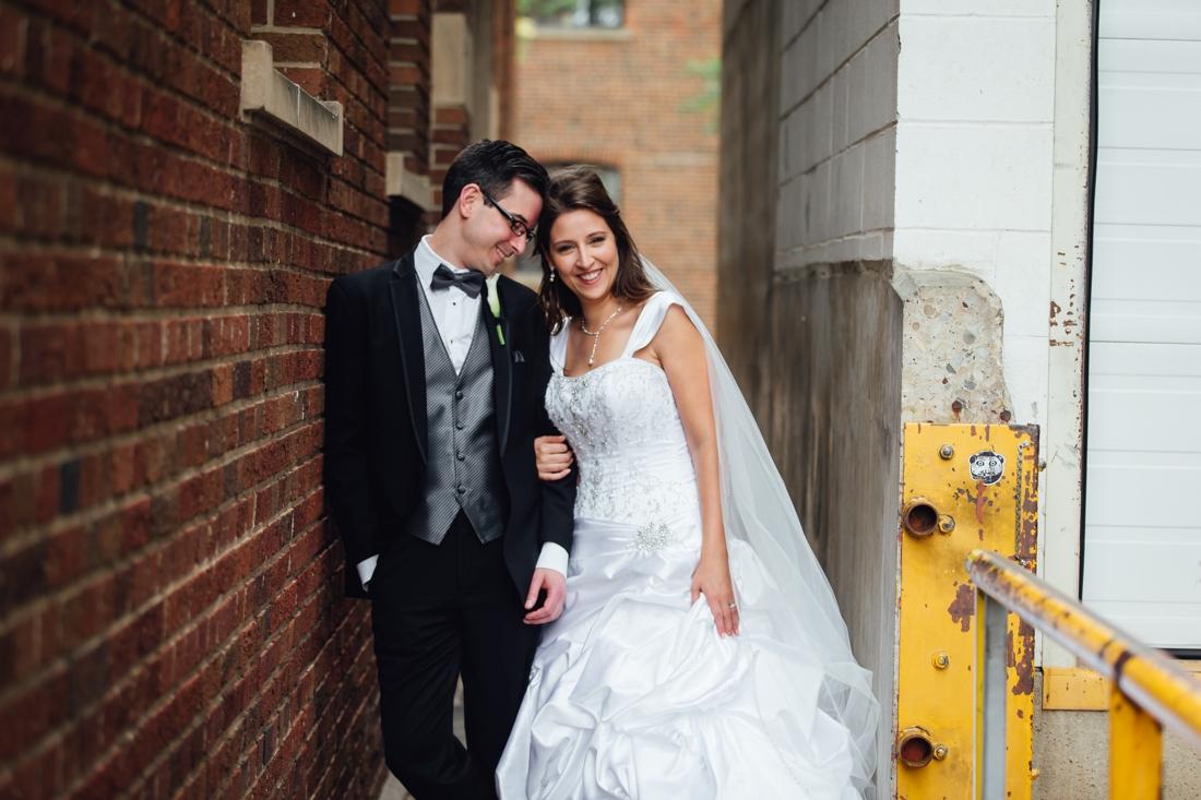 Stacey & Robert's wedding photos at the University of Alberta
