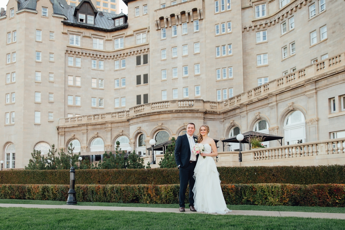 Wedding Photography at the Fairmont Hotel MacDonald in Edmonton