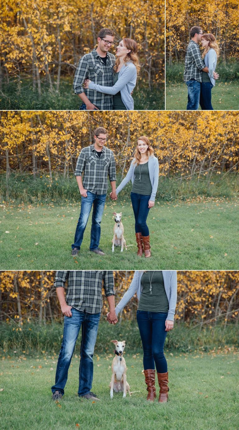 Michelle & Scott's Fall Engagement Photos in Mill Creek Ravine 1