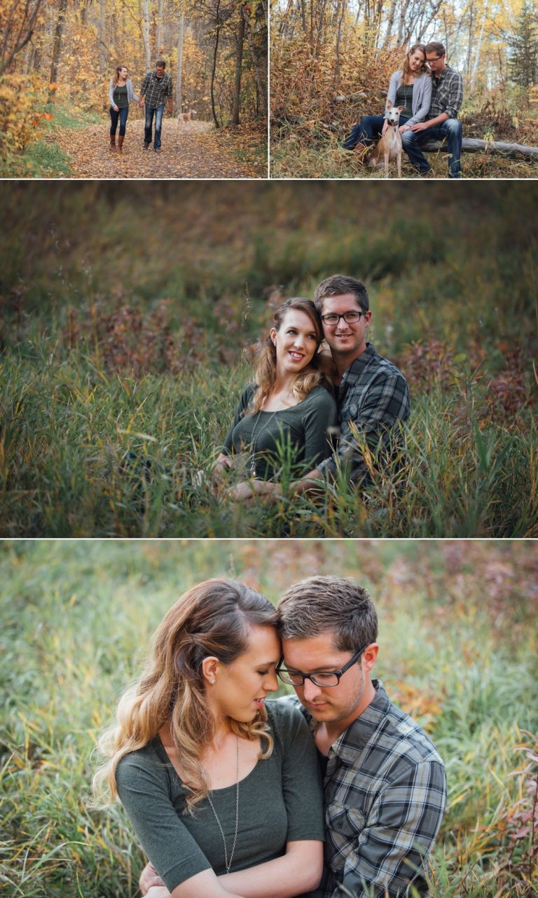 Michelle & Scott's Fall Engagement Photos in Mill Creek Ravine 2