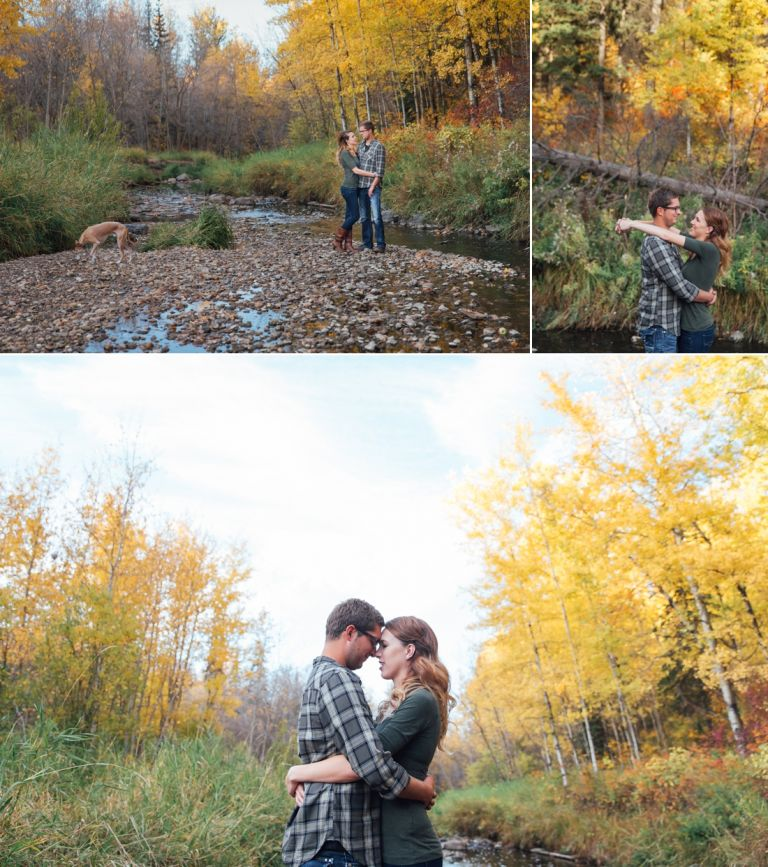 Michelle & Scott's Fall Engagement Photos in Mill Creek Ravine 3