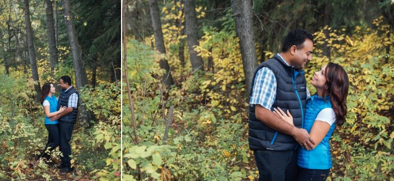 Edmonton Wedding Photographers - Michelle & Curtis's Fall Engagement Session 1