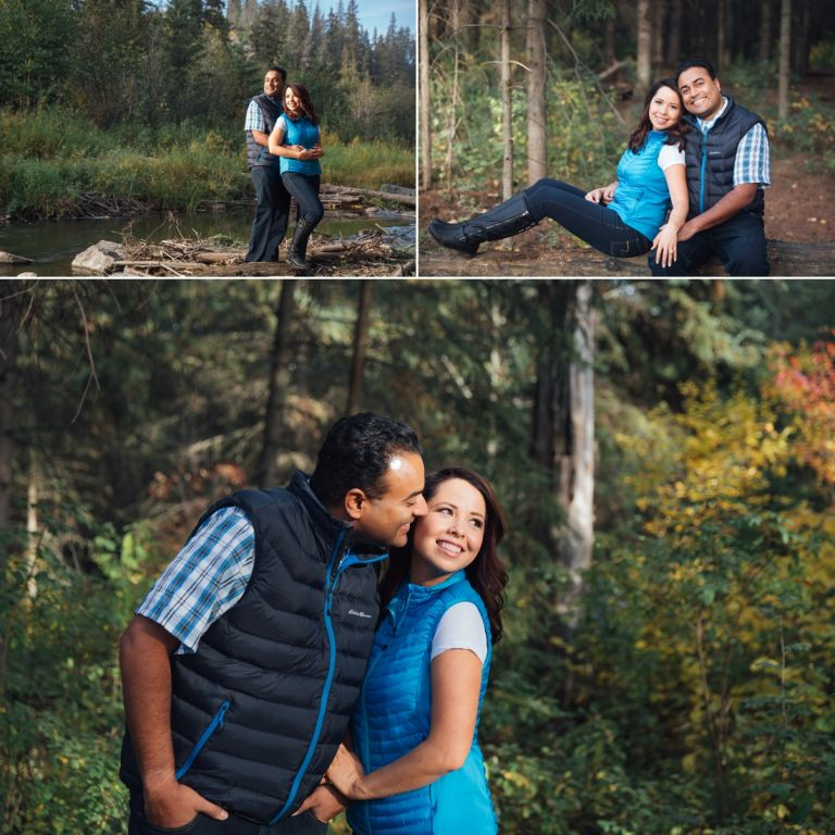Edmonton Wedding Photographers - Michelle & Curtis's Fall Engagement Session 3