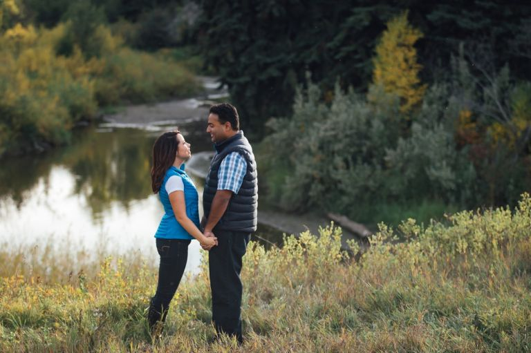 Edmonton Wedding Photographers - Michelle & Curtis's Fall Engagement Session 5