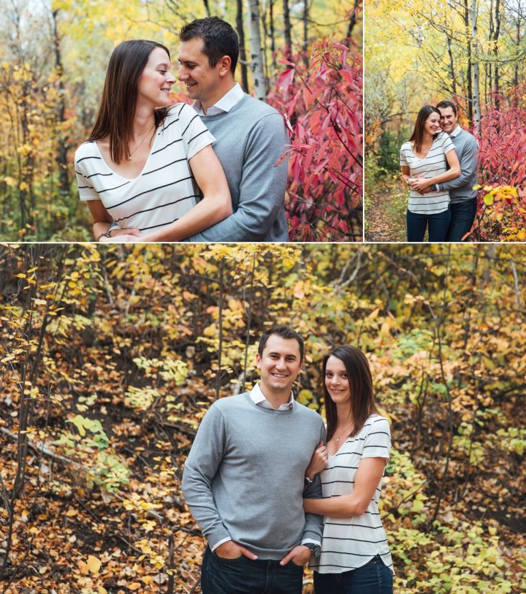 Daryll & Mike's Fall Engagement Photos in Edmonton 1