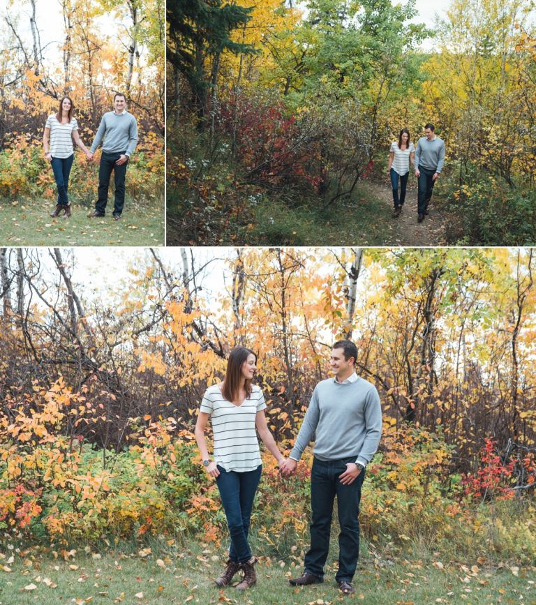 Daryll & Mike's Fall Engagement Photos in Edmonton 3