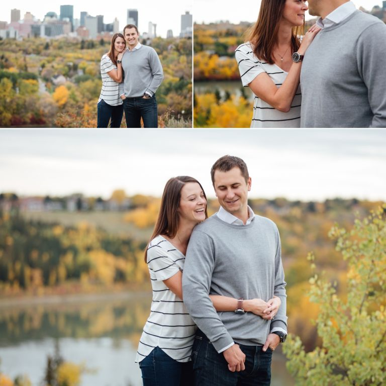 Daryll & Mike's Fall Engagement Photos in Edmonton 4
