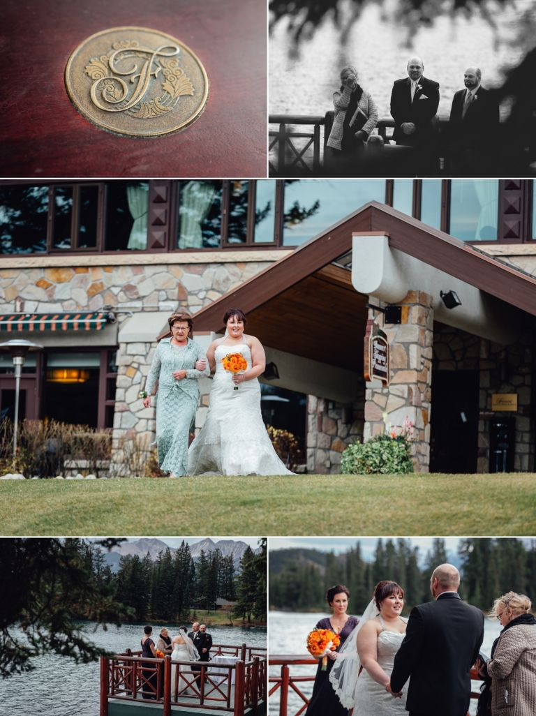 Fall Wedding at the Jasper Park Lodge 1