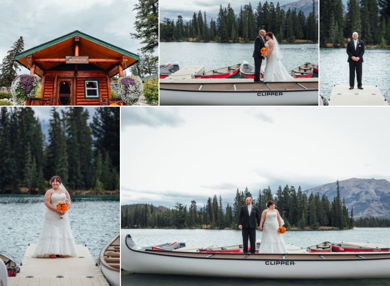 Fall Wedding at the Jasper Park Lodge 2