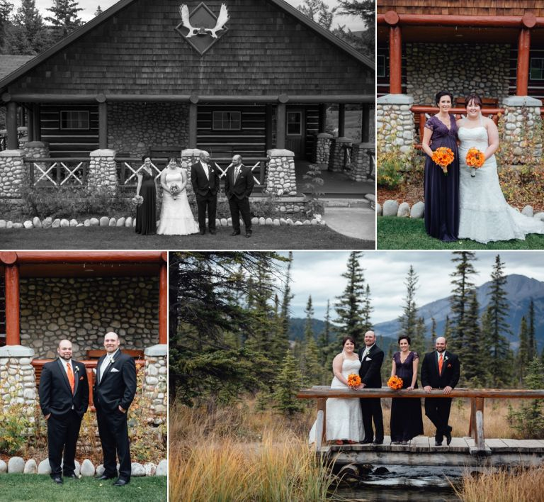 Fall Wedding at the Jasper Park Lodge 3