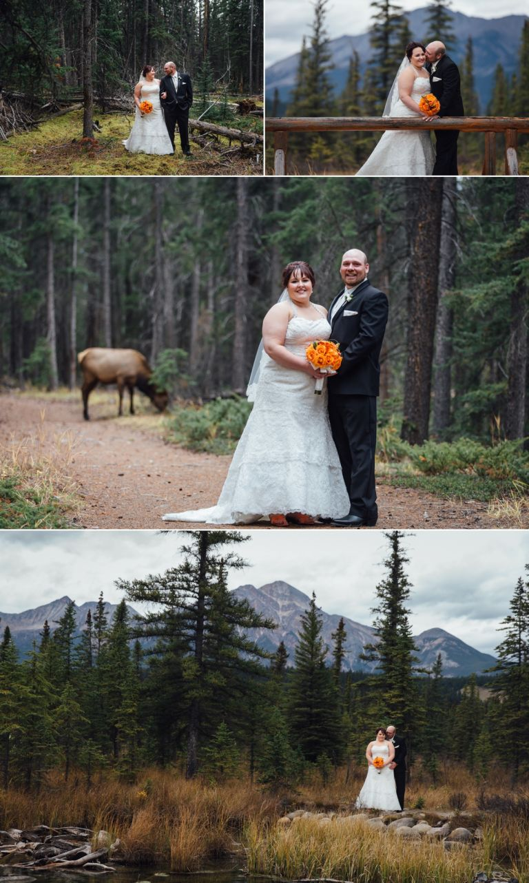 Fall Wedding at the Jasper Park Lodge 4