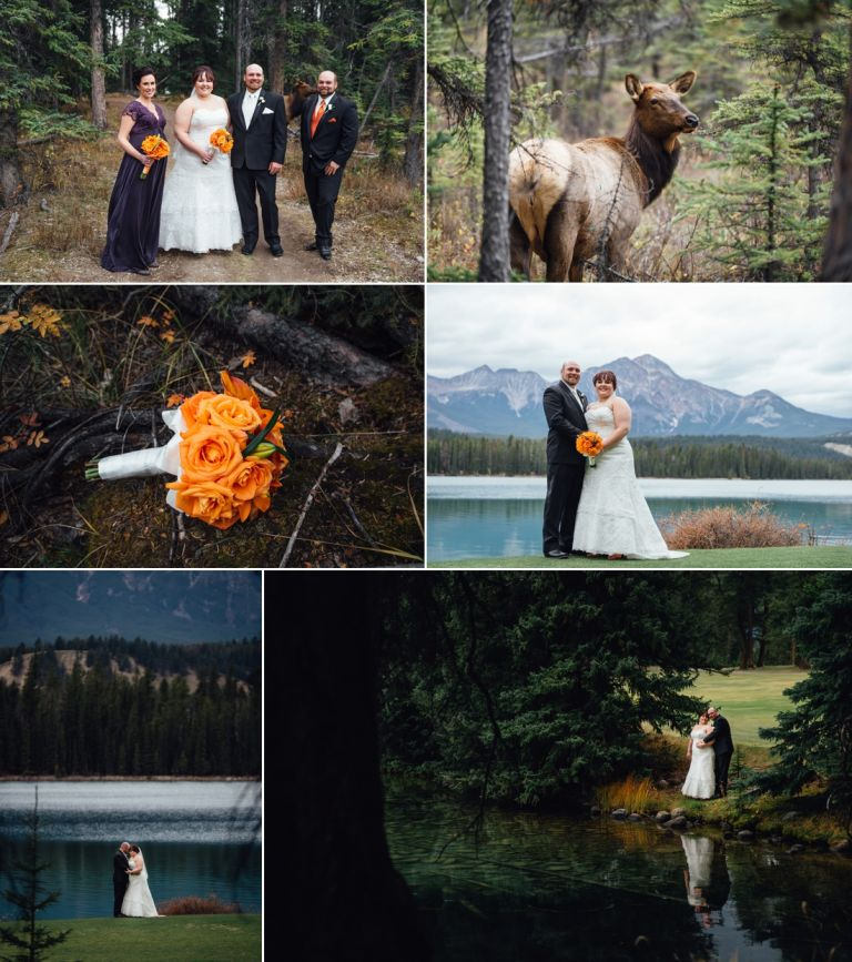 Fall Wedding at the Jasper Park Lodge 5